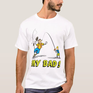 Viaje de pesca del hijo del padre camiseta