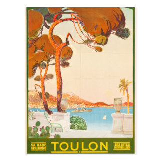 Viaje de Toulon Cote d'Azur Provence Alpes del Postal