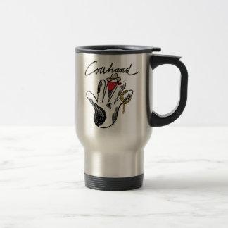 Viaje del acero inoxidable del Cowhand taza del vi