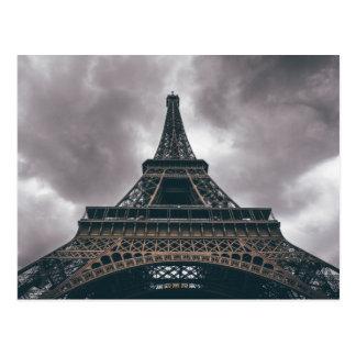 Viaje del francés de París de la torre Eiffel Postal