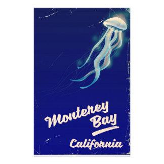 Viaje del vintage de la jalea de California de la Papelería