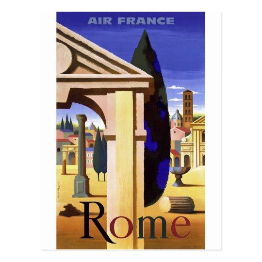 Viaje del vintage de Roma Postal