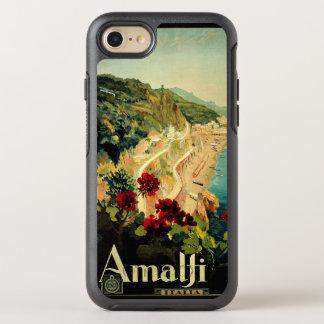 Viaje del vintage, playa italiana de la costa de funda OtterBox symmetry para iPhone 8/7