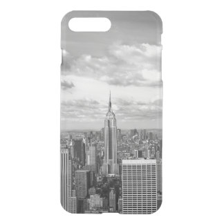 Viaje del wanderlust del horizonte de New York Funda Para iPhone 8 Plus/7 Plus