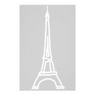 viaje Eiffel del la Papelería Personalizada
