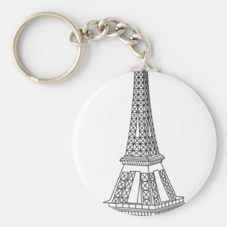 viaje Eiffel Llavero