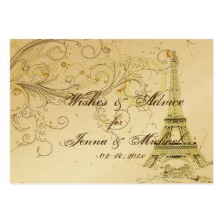 Viaje Eiffel/París del la de PixDezines Tarjetas De Visita Grandes
