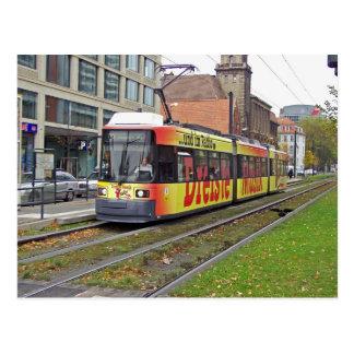Viaje en tranvía en Berlín 2 Tarjetas Postales