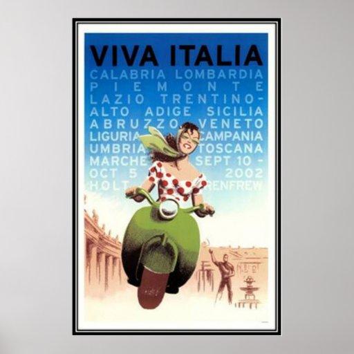 Viaje Italia del vintage - Posters