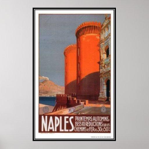 Viaje Italia, Nápoles del vintage - Impresiones