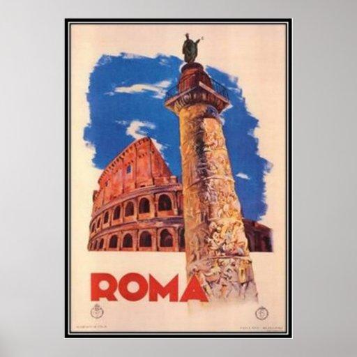 Viaje Italia, Roma del vintage - Posters