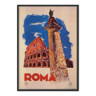 Viaje Italia Roma del vintage - Posters