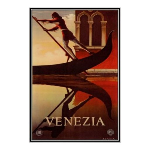 Viaje Italia, Venecia del vintage - Impresiones