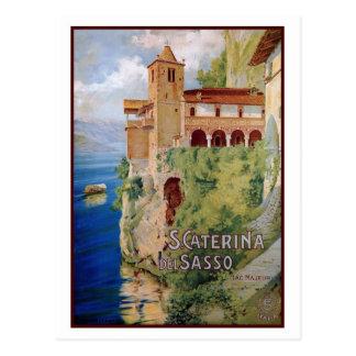 Viaje italiano del convento de Maggiore del lago Postal