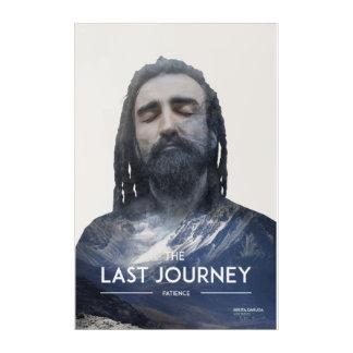 Viaje pasado - impresión de acrílico (original) de