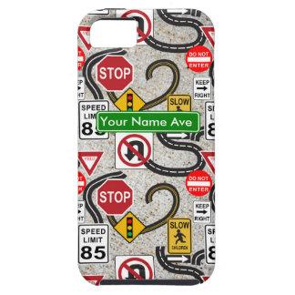 Viaje por carretera personalizado iPhone 5 Case-Mate protectores