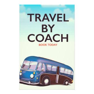 Viaje por el poster del viaje de Británicos del Papelería