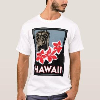 viaje retro del art déco de Hawaii Estados Unidos Camiseta