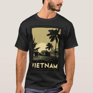 viaje retro del art déco de Vietnam Asia Camiseta
