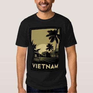 viaje retro del art déco de Vietnam Asia Camisetas