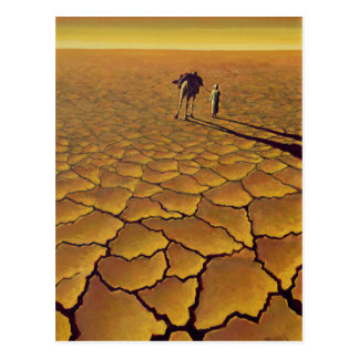 Viaje sahariano 1995 postal