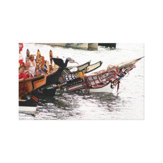 Viaje tribal 2008 impresiones en lona estiradas