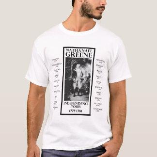 Viaje verde de la independencia de Nathanael Camiseta
