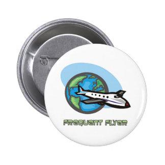 Viajero: Aeroplano del pasajero del viajero frecue Pins