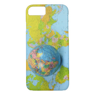 viajero de mundo del caso del iPhone Funda iPhone 7