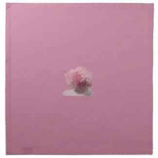Viajeros de la dicha del cuarzo color de rosa servilletas de papel
