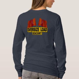 Viajes pesados del recorrido camiseta