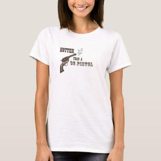 Vibre que una pistola $2 camiseta