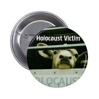Víctima del holocausto pin