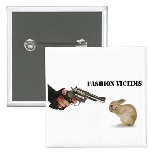 Víctimas de la moda pins