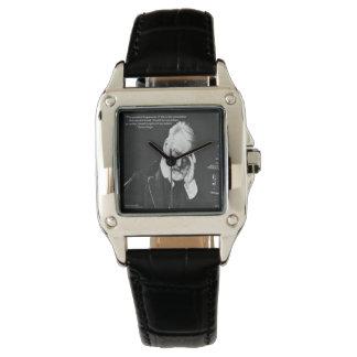 Victor Hugo cuadrado para mujer y reloj de la cita