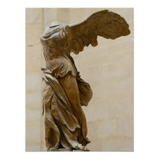 Victoria coa alas de Samothrace Posters