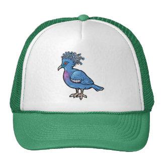 Victoria coronó la paloma gorras