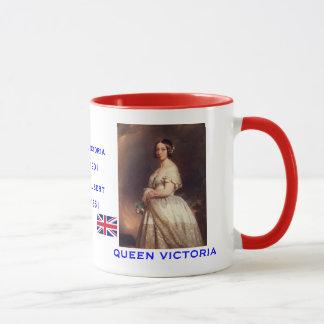 Victoria y taza del retrato de Albert*