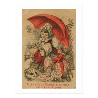 Victorian Adverstisement Postal