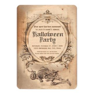 Victorian de la invitación de Halloween del