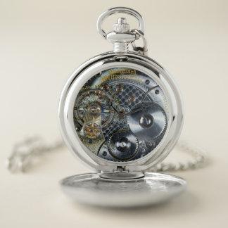 Victorian esquelético de Steampunk del reloj del
