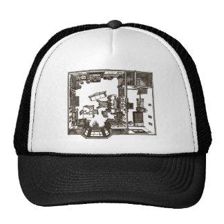 Victorian plano gorras de camionero