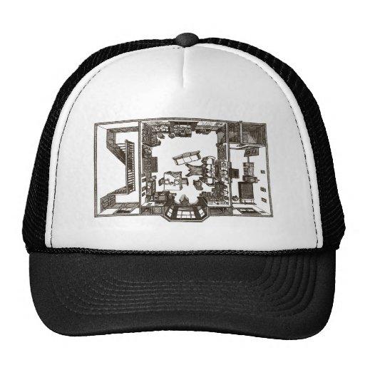 Victorian único plano gorras de camionero