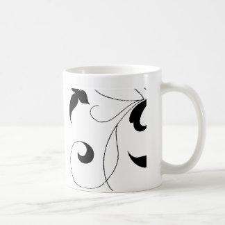 Vid delicada taza de café