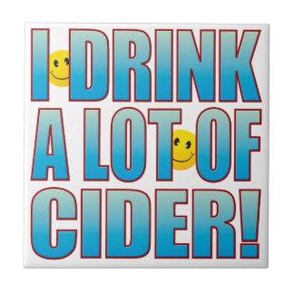 Vida B de la sidra de la bebida Azulejo Cuadrado Pequeño