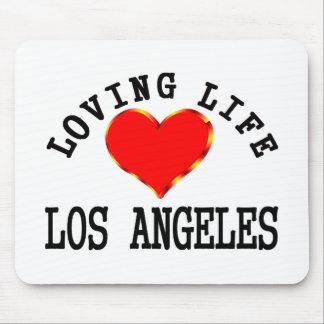 Vida cariñosa en Los Ángeles Alfombrilla De Ratón