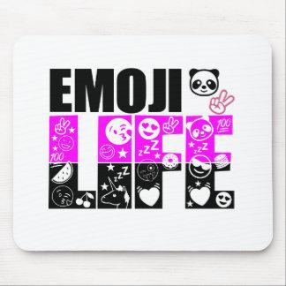 Vida de Emoji Alfombrilla De Ratón