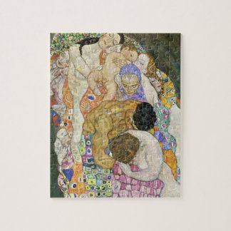 Vida de Gustavo Klimt y rompecabezas de la muerte