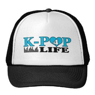 VIDA DE K-POP 4 GORRAS DE CAMIONERO