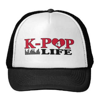VIDA DE K-POP 4 GORROS